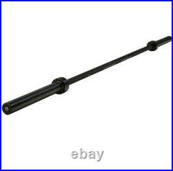 New, Cap 84 Olympic Black Bar. 1 Solid Piece Bar. Brand New