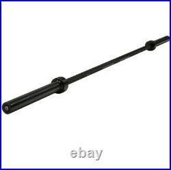 New, Cap 84 Olympic Black Bar. 1 Solid Piece Bar. Max Load Capacity 500 Lbs