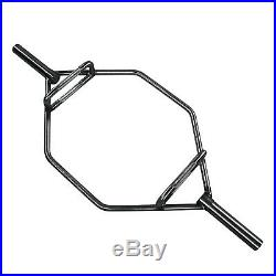 New Olympic 2-Inch Hex Close End Weight Lifting Trap Bar, 1000-Pound Capacity