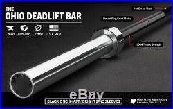 New Rogue Fitness Ohio DEADLIFT Boneyard Bar