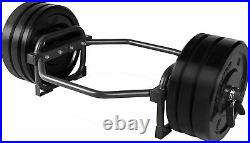 Olympic Trap Bar Hex Shrug Deadlift CAP Barbell Weight Frame Lifting Workout