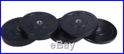 POWERT 2'' Bumper Plates Echo Olympic Bar Plate Weight Lifting 2 Inch-Pair