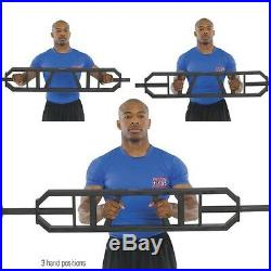 POWER SYSTEMS Olympic MULTI GRIP BAR Pressing Pulling Weight Training BENCH LOG