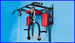 Portable Wall Mounted Pull Up Bar Chin Up Bar With Dip Bar