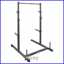 Power Rack Weight Lifting Squat Pull Chin-Up Bar Strength Training Home Gym