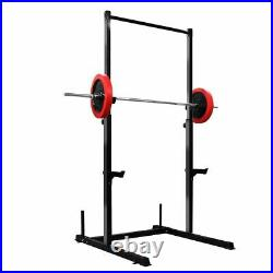 Power Rack Weight Lifting Squat Stand Adjustable Power Cage with Pull Up Bar 661LB