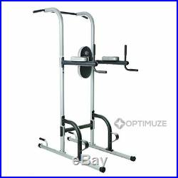 Power Tower Golds Gym Pull Push Chin Up Bar Exercise Dip Station Home Fitness