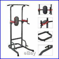 Power Tower for Home Gym Workout With Dip Station And Chin Pull Up Bar machine