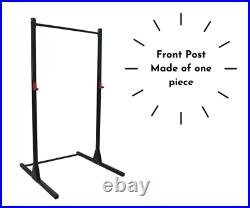 Power rack Squat Rack Power Cage with Pull Up Bar bench press Crossfit Black