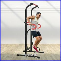 Pull Up Fitness Training Dip Station Bar Power Tower Exercise Equipment Machine