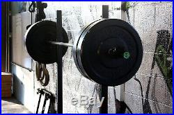 RAGE Fitness Olympic Training Barbell, 15 lb, For Weightlifting and Power Liftin