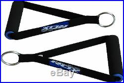 RDX Tricep Rope Cable Attachment Bar Dip Station Resistance Band Exercise Gym AU