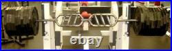 REPS Olympic Football BENCH BAR Multi-Grip Angle Pressing Pulling Weight Trainin