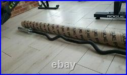 ROGUE OLYMPIC CURL BAR Authentic RACKABLE Rogue Curl Bar Sealed In Tube