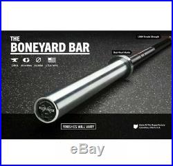 Rogue Boneyard 1.2 Ohio Bar (Black E-coat Shaft/ Bright Zinc Sleeve) FAST SHIP
