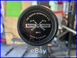 Rogue Fitness Ohio Power Bar Black Cerakote 20kg (Flawless Boneyard) Send offers