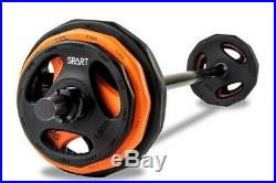 SPART Barbell /Cardio Pump Set Bar and 3 Pairs of Plates -40lbs Set