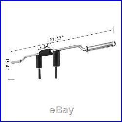 Safety Squat Olympic Bar 86 Fits 2 Olympic Plates Workouts 700LBS Fitness Gym