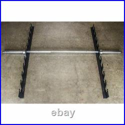 Serious Steel Fitness Heavy Duty Barbell Gun Rack Barbell Storage Rack
