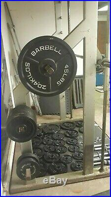 Smith Machine ICARIAN Plate Loaded Weight Olympic Bar Commercial set