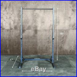 Squat Rack with Pullup Bar 450lb Weight Capacity Weightlifting Equipment