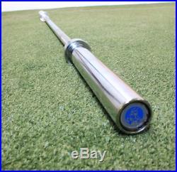 Strencor MINOTAUR 7' Alloy Steel Chrome-Plated Olympic Barbell Bar