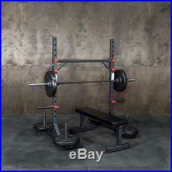 Strongman Yoke Multi-Use Squat Rack / Fat Bar Pullup Station / Zercher Carries