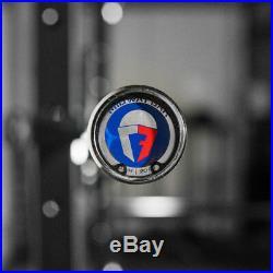 Titan Fitness Chrome Olympic Power Bar 7 ft 1500 LB Capacity Barbell IN HAND