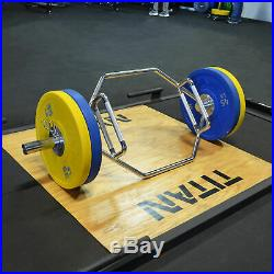Titan Fitness Hex Bar for Olympic Weight Lifting and Bodybuilding, Barbell Acce