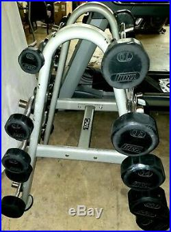 Troy Barbell 20 -110 lbs. Rubber fixed EZ curl bars BELOW MARKET PRICE