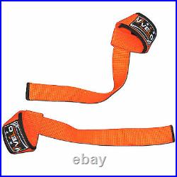VELO Padded Weight Lifting Training Wrap Gym Straps Hand Bar Wrist Support org