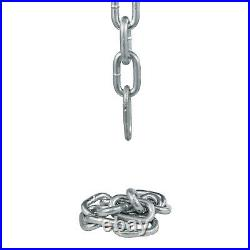 Weight Lifting Chains Olympic Bar Barbell Chain Pairs 44LB Collars Muscle Build