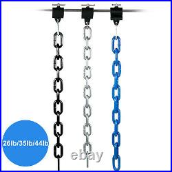 Weight Lifting Chains Olympic Bar Barbell Chains 26LB 35LB 44LB Chains withCollars