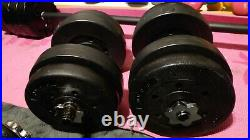 Weights Dumbbells for Barbell bar Gym bodybuilding 36 kg 10 15 20 25 30 35 plate