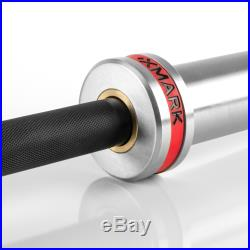 XMark CROWBAR Olympic Barbell Weight Bar for ALL Olympic Plate Weights