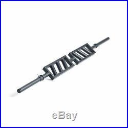 Xtreme Monkey Black Steel Swiss Bar Angled